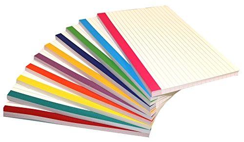 "Debra Dale Designs 5"" x 8"" Color Bar Ruled Extra Heavy 140#"