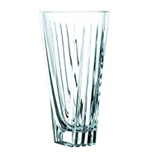 Nachtmann Art Deco 11-Inch Crystal Vase