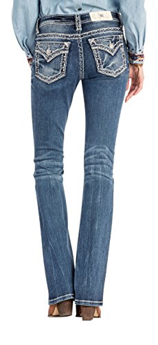 Miss Me Fall in Line Mid-Rise Bootcut Jeans (Size 32,33,34) (33) from Miss Me