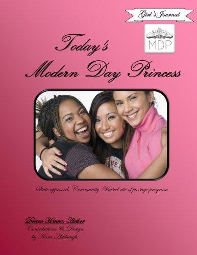 Today's Modern Day Princess Girl's Journal