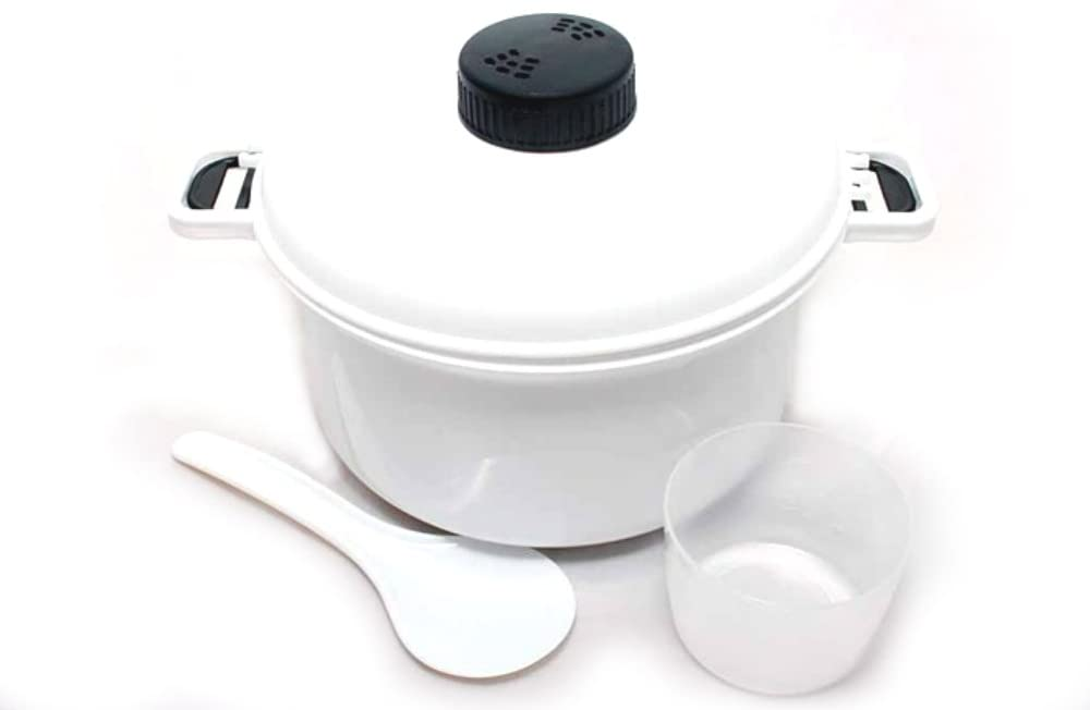 BW2003 Uniware Mircowave Rice Cooker with Cup, 10 Cups, 2.5 Qt