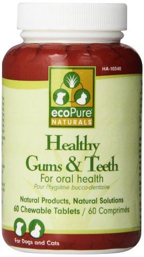 Ecopure Healthy - ecoPure Healthy Gums & Teeth Chewable Tablets, 60 ct