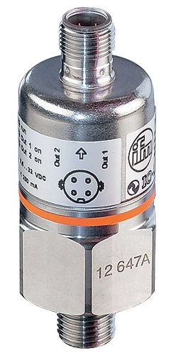 IFM Efector PX3111 Electronic Pressure Sensor, Stainless Steel 316L/1.4404 Fpm, 0 to 3000 PSI Measuring Range by IFM Efector