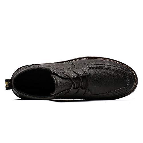 Formali da Oxford Uomo Cricket Scarpe Nuovo Suola Easy Shopping da Scarpe Grigio Go Semplice Antiscivolo Comodo Moderno Casual pXnHUO