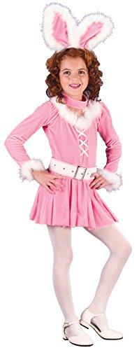 Bunny Honey Child Costumes (Girls Bunny Honey Kids Child Fancy Dress Party Halloween Costume, L (12-14))