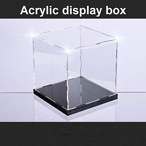 Ochoos 20X20X25CM 高透明アクリルディスプレイボックス ガレージキット クレイモデルカバー カスタマイズ玩具 防塵ボックス B07NSCT99W