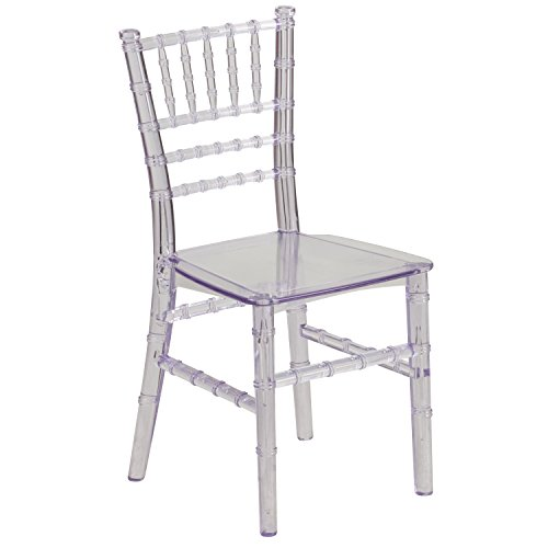 Living Chair Stacking Room (Flash Furniture Kids Crystal Transparent Chiavari Chair)