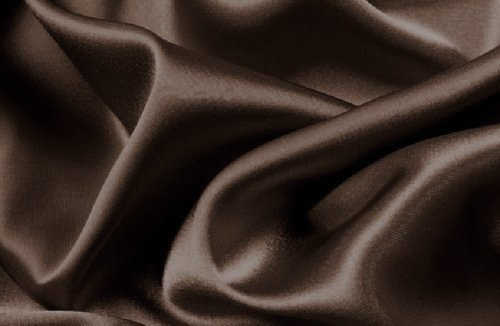 Mk Collection 4pc Soft Silky Satin Solid Color Deep Pocket Sheet Set (Queen, Brown/Coffee) (Brown Silk Sheets)