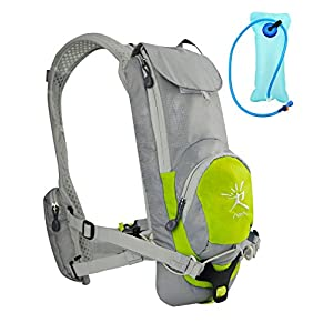 IVIM Running Race Hydration Vest Hydration Pack with 2Liter Bladder (Lemon, Style 1)