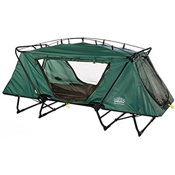 Kamp-Rite DCTC343 2 Person Compact Tent Cot Double Green 550 LB Capacity* for sale online
