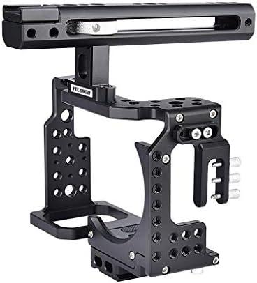 KESOTO カメラケージ Sony A7K A72 A73 A7S2 A7R3 A7R2 A7X用 ハンドルグリップ付き 1/