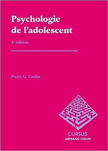 La socialisation de ladolescent (Psychologie) (French Edition)
