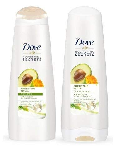- Dove Nourishing Rituals Fortifying Ritual Shampoo and Conditioner Set, 12 oz each (Set Contains 2 items)