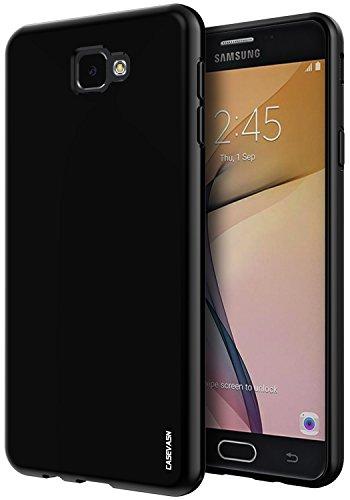 Slim Shockproof Case for Samsung Galaxy On7 (Black) - 5
