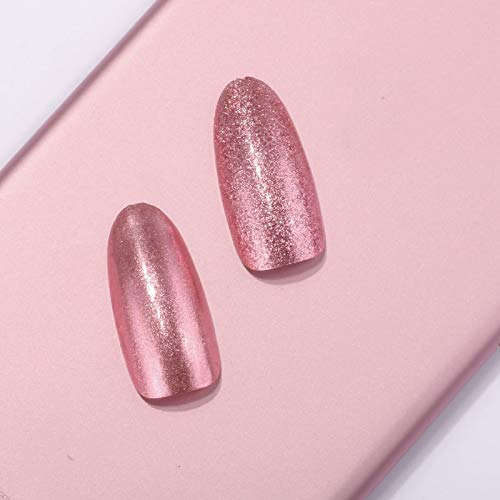 SaveStore 0.2g/Box Mirror Rose Gold Nail Glitter Powder UV Gel Nail Polish Chrome Pigment Flakes Nail Decoration Tool