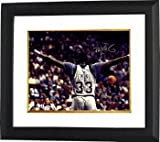 Patrick Ewing Signed Autograph Georgetown Hoyas 16x20 Photo Custom Framed