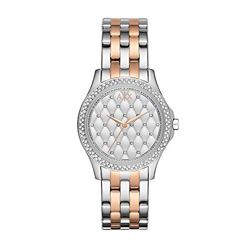 (Armani Exchange Women's AX5249 Two Tone  Watch)