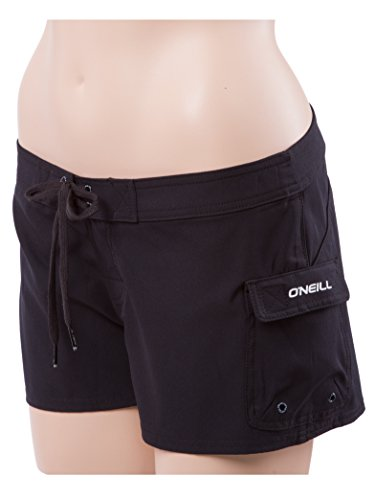 O'Neill South Pacific Womens Stretch Boardshorts 5 Black