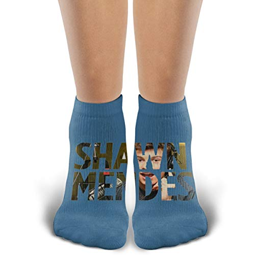 (TYDJL Singers Shawn Mendes Fan Logo Sports Outdoor Casual Cotton Stitching Soft and Comfortable Socks for Men and)