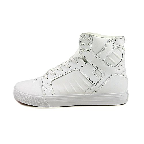 White Evo Men's White Skytop Shoes Supra wqaZBCA