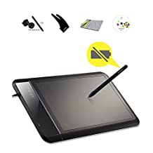 XP-Pen Star01 Drawing Tablet  8'' x 5'' Graphics Tablet Drawing Pen Tablet Battery-free Passive Stylus Signature Boards