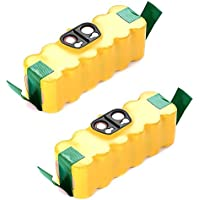 Masione 2 Pack 3500mAh Ni-MH Battery for iRobot Roomba 500, 600, 700, 800 Series fits 510 530 540 550 570 580 585 610 620 660 760 780 790 870 R3 80501