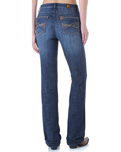 Wrangler Women's Aura Instantly Slimming Jean with Booty up Technology, Dark Blue, 20 Short (Aura Instantly Slimming Jeans)