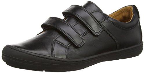 Froddo School Shoe Black G3130090, Zapatillas para Niños Negro (Black)