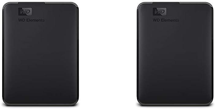 【セット買い】WD HDD ポータブルハードディスク 3TB WD Elements Portable WDBU6Y0030BBK-WESN USB3.0/2年保証 & HDD ポータブルハードディスク 4TB WD Elements Portable WDBU6Y0040BBK-WESN USB3.0/2年保証