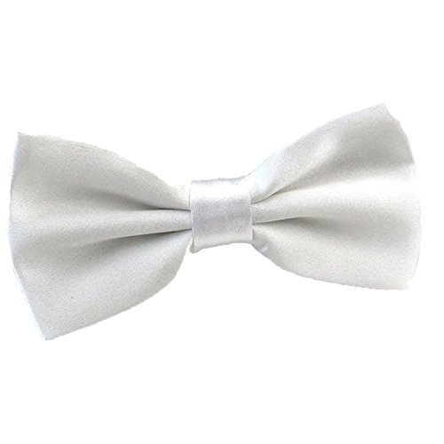 2016 Male Fashion Bow Tie For Wedding or Party Mens Toddler Youth Boys Women Dog White, One Size ()