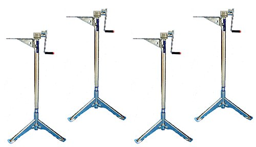 Rieco-Titan Products (TST1000-4Z1 Tripod Jack, (Set of 4)