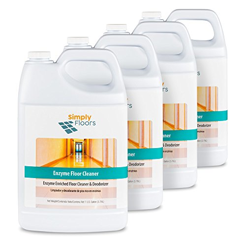 Enzyme Concentrate (Simply Floors Enzyme Potpourri Floor Cleaner, Concentrate, 512 oz, 4-pack)