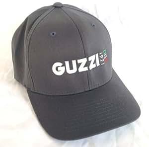 Amazon Com Grey Moto Guzzi Iconic 1921 Logo Hat Medium
