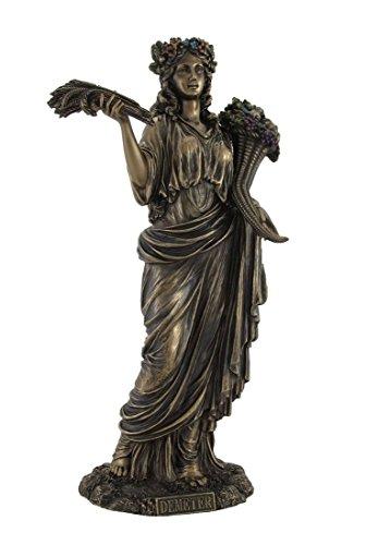 Veronese Greek Goddess of Harvest Demeter Bronzed Statue -