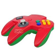 CyCO Nintendo 64 Classic Hybrid Controller - Red/Green