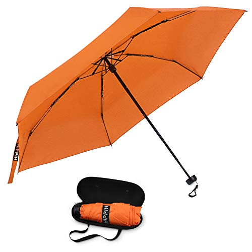 Small Mini Umbrella with Case Light Compact Design Perfect for Travel -