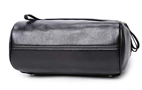 Black Multifunzione College Studente Zaino Viaggio Backpack Moda Borsa 0RqWv
