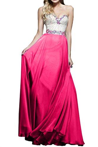 Ivydressing Ausschnitt Damen Linie Herz A Strass Festkleider Pfirsch Promkleid Abendkleid qcrq7W6g