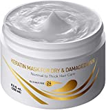 Best Keratin Mask For Hairs - Vitamins Hair Mask Repair Treatment - Thick Coarse Review