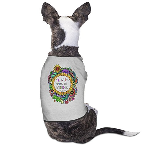 Theming Tom Petty Wildflowers Dog Vest