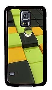 fashion Samsung Galaxy S5 cases Unique PC Black Custom Samsung Galaxy S5 Case Cover