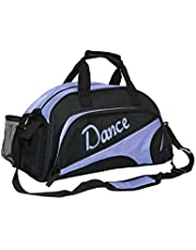 WENDYWU Girl's and Women's Ballet Dance Sports Gym Duffel Bag Travel Carry Duffel Shoulder Crossbody Bag