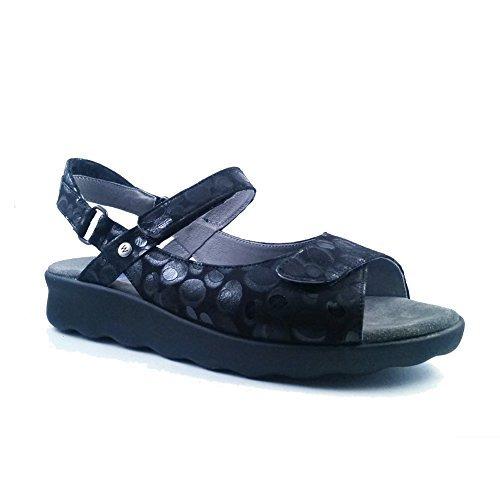 (Wolky New Women's Jewel Sandal Vegi Leather Blue)