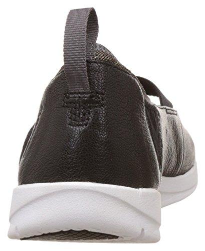 Clarks Tri Paso Zapatos Negro Cuero Black Leather