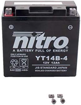 02 Bater/ía 12 V 12 Ah YT14B-4 Gel Nitro FJR 1300 RP04 01