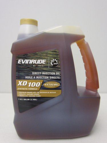 evinrude-johnson-764357-e-tec-xd-100-synthetic-formula-2-cycle-oil-1-gallon
