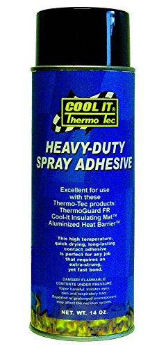 Thermo-Tec 12005 Spray-On Adhesive - 16.75 oz. (6) by Thermo-Tec