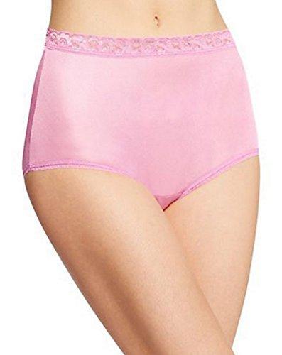 Nylon White Brief - Hanes Women's Nylon Brief Panties 6-Pack