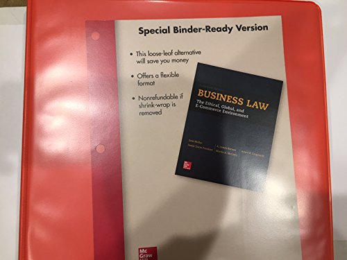 Business Law by Jane Mallor (2015-02-25)