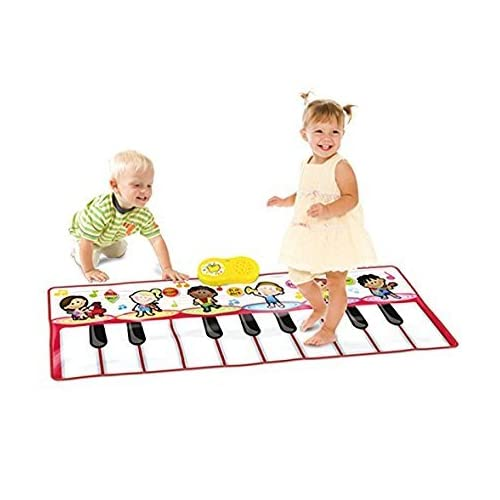 SainSmart Jr. Durable Piano Mat, Dancing Learning Playmat, 4 Modes with 6 Musical Instrument Sounds